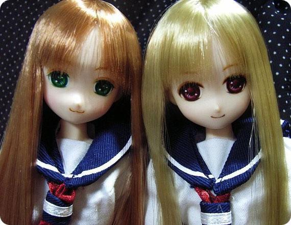 2010/12/12 『I・Doll VOL.30』にて販売したカスタムヘッドです。