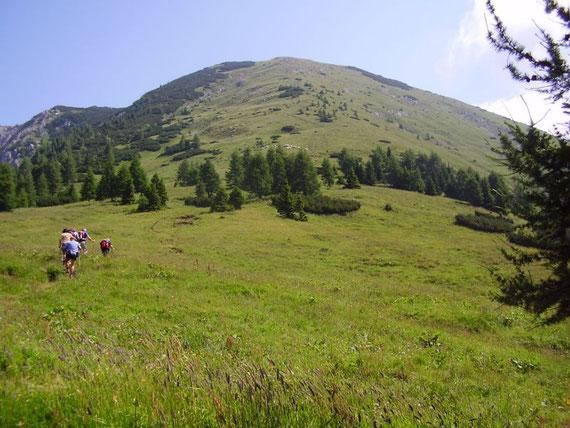 Der Westgrat hinauf zum Kosiak (Winterklassiker)