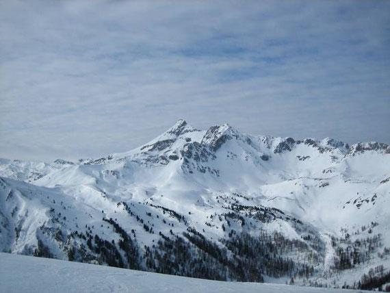 Nach Westen hin erhebt sich schließlich das Moosermannl (2680m)