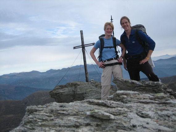 Ein Gipfelfoto darf natürlich auch auf der Wandspitze nicht fehlen