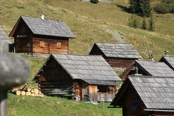 Die Siflitzer Hütten auf der Siflitzer Kuhalm