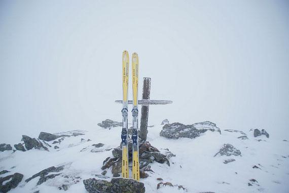 Auch am Gipfel leider keine Sicht