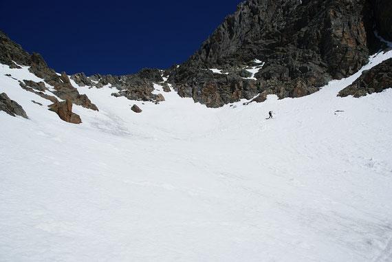 In der ersten Steilstufe