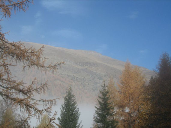 Am Fuße des Faschauernecks (2614m) entlang ging es Richtung Norden