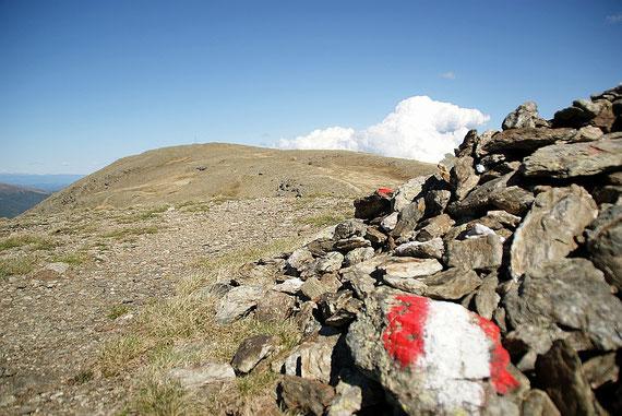 Der flache Gipfel der Moschelitzen