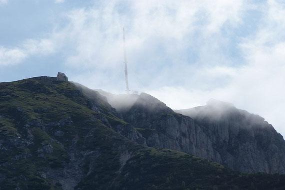 Der Kuhriegel mit dem Gipfel