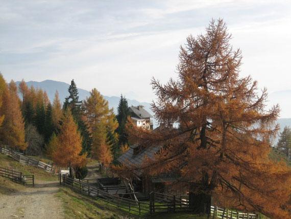 Start- und Zielpunkt die Kramerhütte