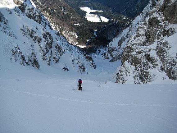 Forcella della Lavina (Lahnscharte) 2055m - Bergtouren und
