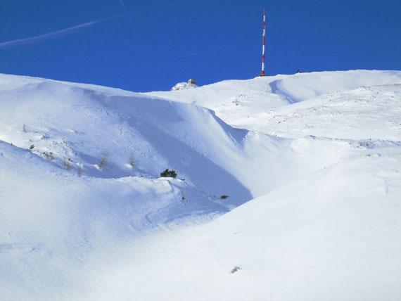 Der Dobratsch Gipfel
