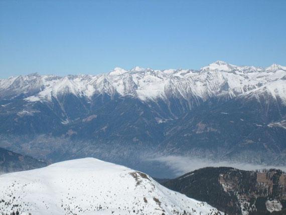 Nach Norden die Hochalm (3360m)