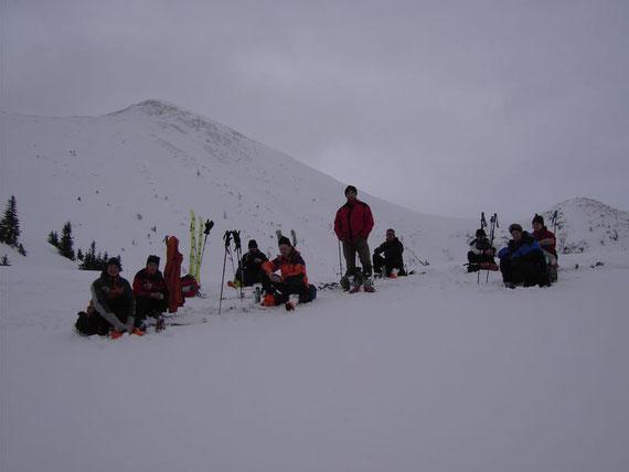 Blick nach Süden auf den Goldkogel (2080m)