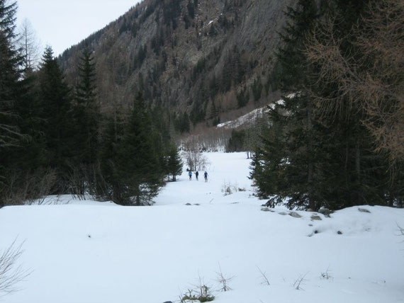 Knapp nach der Konradhütte