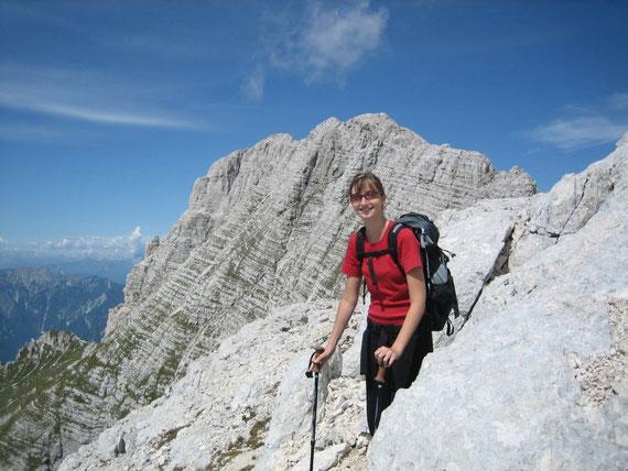Im Osten der Montasch (2753m)