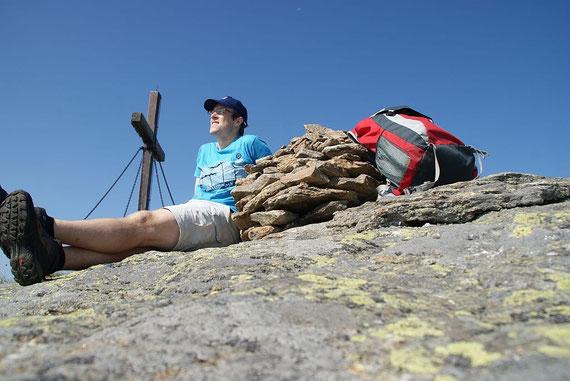 Am Gipfel des Ladinger Spitz