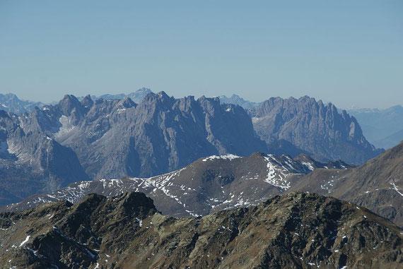 Zoom zu den Lienzer Dolomiten