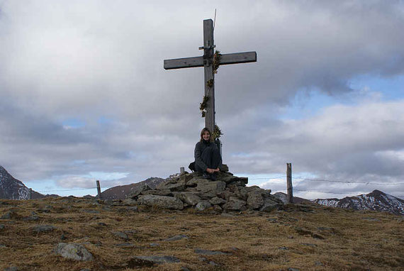 Am Gipfel angelangt