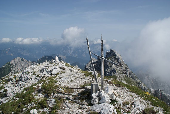 """Das """"Gipfelkreuz"""""""