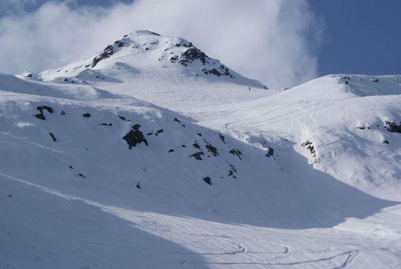 Die Gipfelflanke
