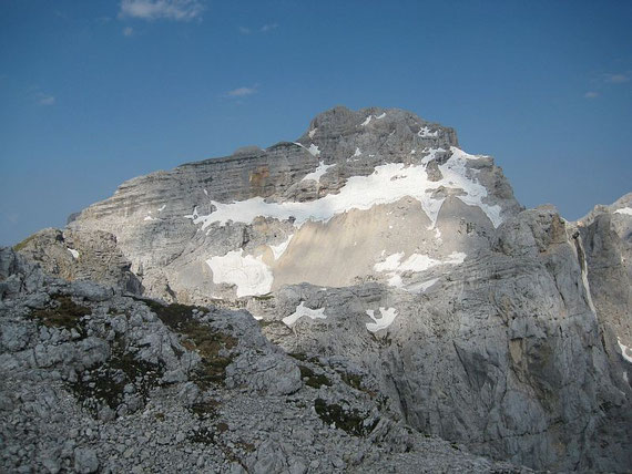Schon am Gipfel des Kriz bietet sich ein herrliches Panorama, im Bild der Razor