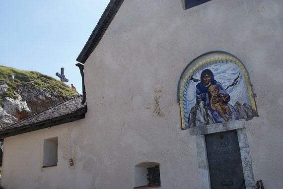 Der Gipfel mit der Windischen Kirche