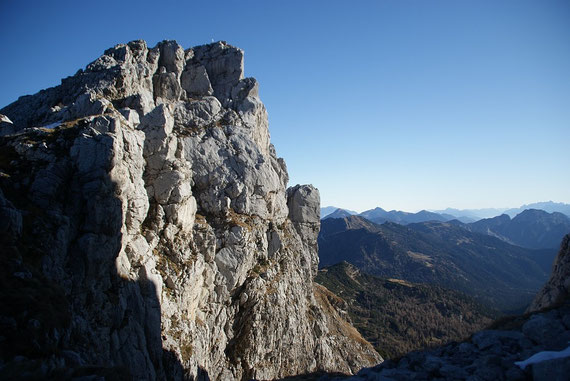 Blick zum Torre Clampil