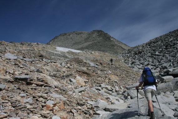 """Der Gipfelaufschwung, ein schöner """"Steinhaufen"""""""