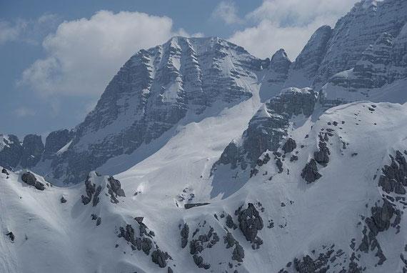 Vom Col Delle Erbe hat man einen wunderschönen Blick hinüber zum Fenster