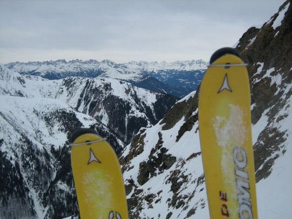 Nach Norden hin in die Lienzer Dolomiten