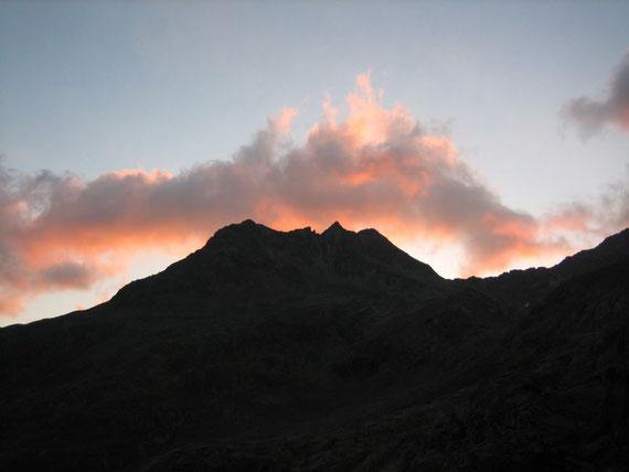 Morgenstimmung bei der Elberfelderhütte