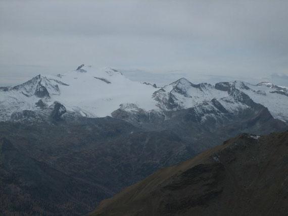 Die Hochalmspitze (3360m) einmal aus der Nähe
