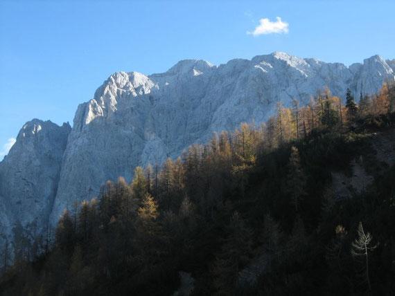 Die Prisank- Nordwand