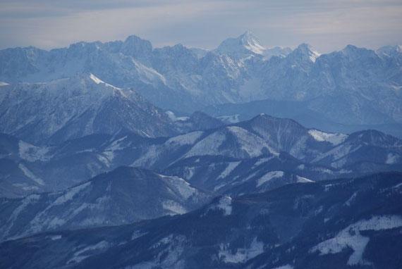 Der Triglav, der höchste Berg Sloweniens