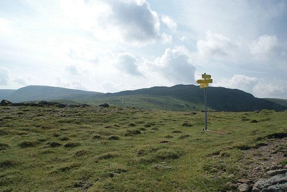 Blick zur Turnhöhe (links das Schereck)