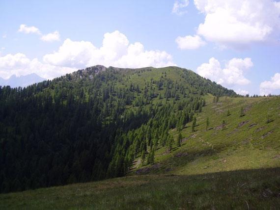 Der Blick nach Süden zum Sagran