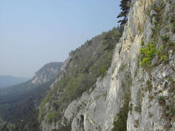 Die Hohe Wand (Blickrichtung nach Süden)
