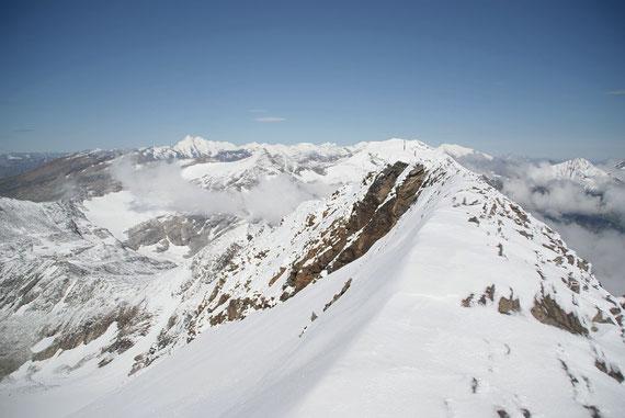 Der Grat zum Gipfel