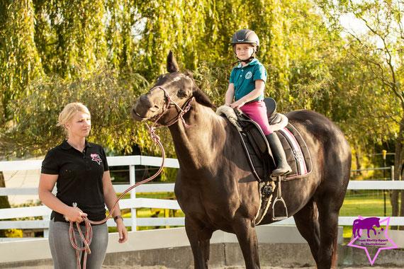 Fotoshooting mit Pferd und Kind, Kleine Reiter ganz groß - so lernen Kinder das Pfede-Abc