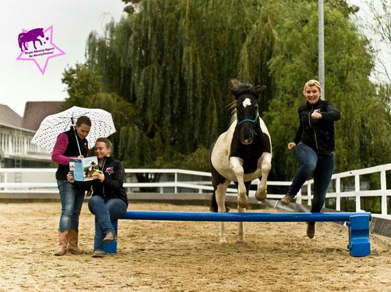 Team Shetty-Sport, Kleine Reiter ganz groß, Ponys ganz groß