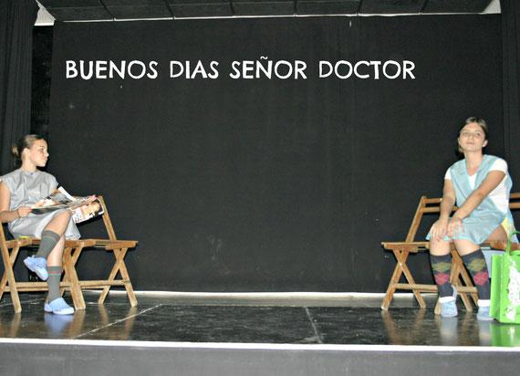 Cuadros de Amor y Humor al fresco,  representada por el grupo Ellos&Ellas, escrita por J.L. Alonso de Santos, dirigida por Sandra Berrocal