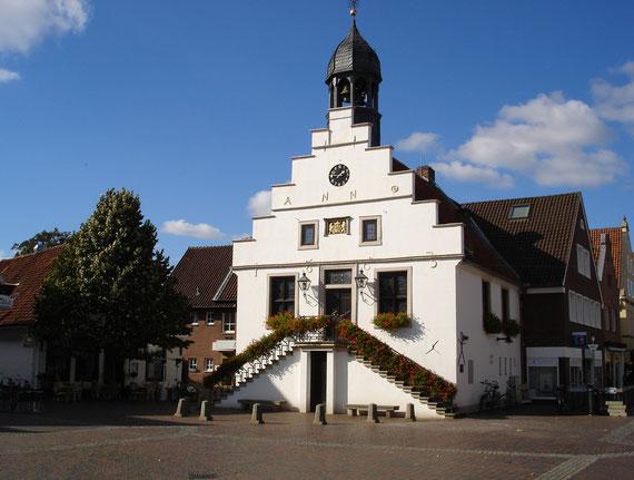 Das Lingener Rathaus.