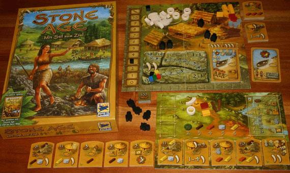 Stone Age Erweiterung für den 5. Spieler von Hans im Glück; Autor: Michael Tummelhofer