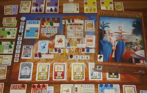 Maestro Leonardo von Abacus für 2-5 Spieler