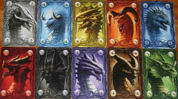 Drachenkarten