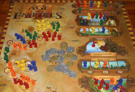 Age of Empires III von ProLudo für 2-5 Spieler