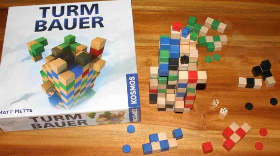 Turmbauer von Kosmos für 2-4 Spieler