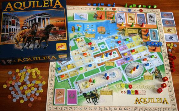 Aquileia von Zoch für 2-5 Spieler