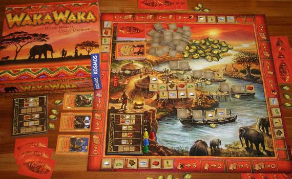 Waka Waka von Kosmos für 2-4 Spieler