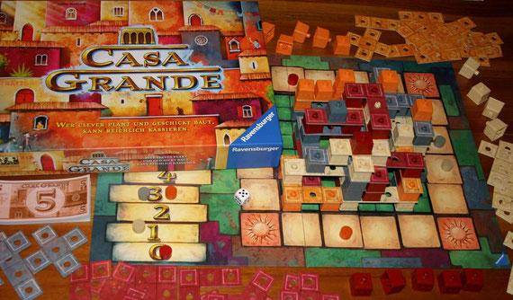 Casa Grande von Ravensburger für 2-4 Spieler ab 8 Jahren