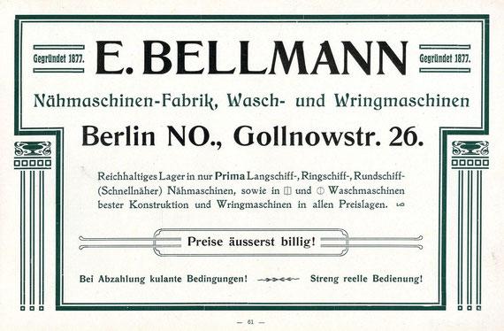 1910  Advertisement