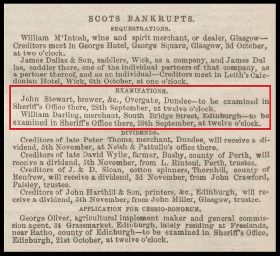 Dundee, Perth, and Cupar Advertiser - 23 September 1853